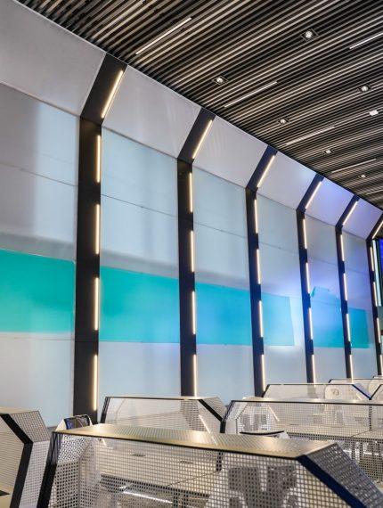 nowoczesne oświetlenie sal konferencyjnych Lumina